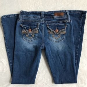Skinny Distressed Jeans Size 1